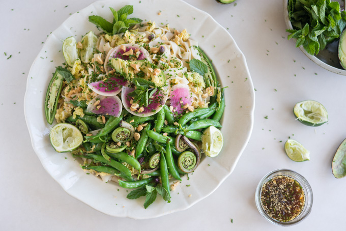 Spring Roll Salad